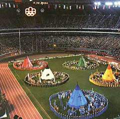 Montreal Olympics Closing Ceremony